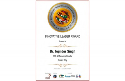 Innovative Leader Award