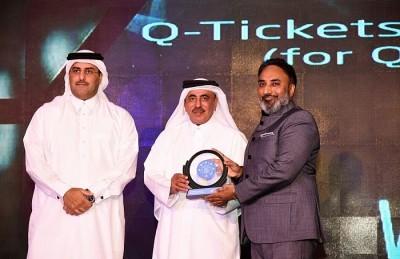 Q-Tickets Won The Best Mobile Application of the Year - Qatar IT Business Awards 2018